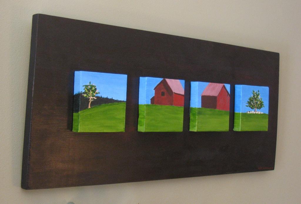 Four Mini Landscapes