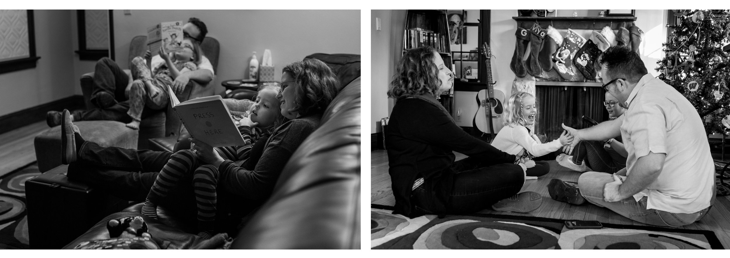 They still spent lots of time together as a family, but it looks very different. In 2018 (right) the girls joke and make sarcastic comments with the parents in way they weren't yet able to back in 2016 (left). I look forward to seeing what The Waggle family will look like in another two years.