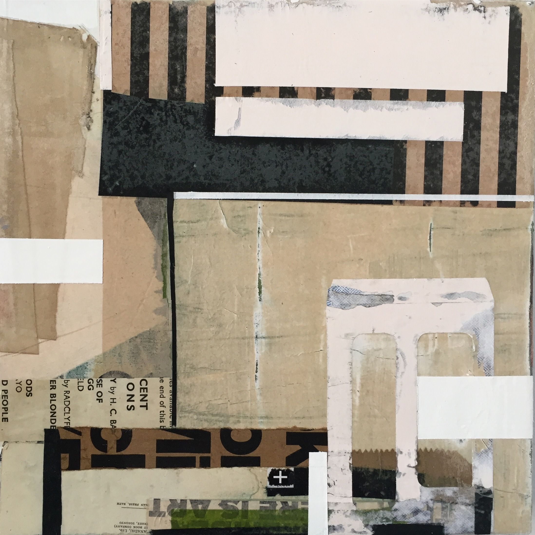 """ANNOTATED   12"""" x 12"""" (30cm x 30cm)   2017 mixed media on panel  (ENQUIRIES: AFTER NYNE GALLERY )"""