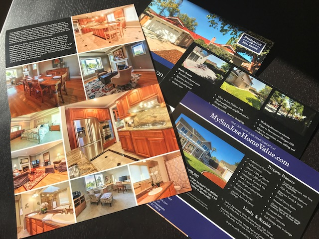 FULL COLOR 2-PANEL BROCHURES - PRINTED ON HIGH-QUALITY FULL GLOSS STOCK