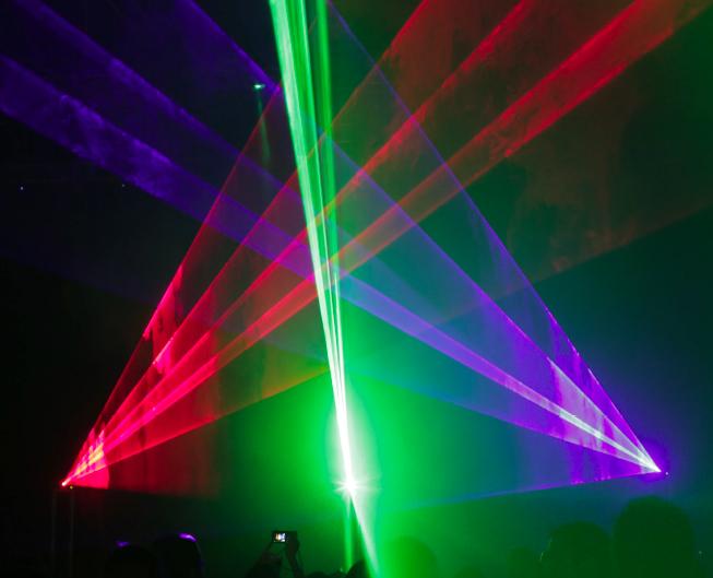 Photo credit: Robin Fox - RGB Robin Fox Laser Show