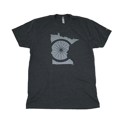 MN Wheel   Next Level - Charcoal Grey 60% Cotton/40% Poly Shipping to the US only