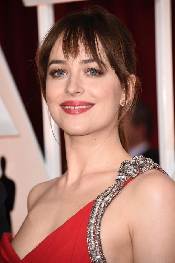 #DakotaJohnson #Oscars2015