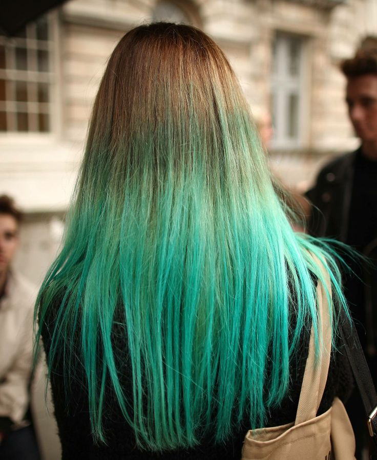 #teal #hair #trend