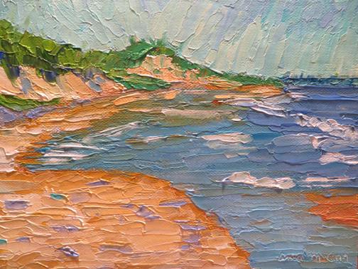 Great Island Beach by Ann McCann (c) 2015