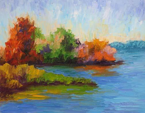 Autumn at the Lake (c)Ann McCann 2016