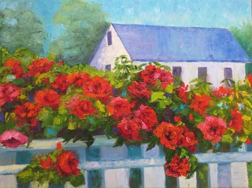 Ann McCann-Cape Cod Roses-18x24-Oil on panel.jpg