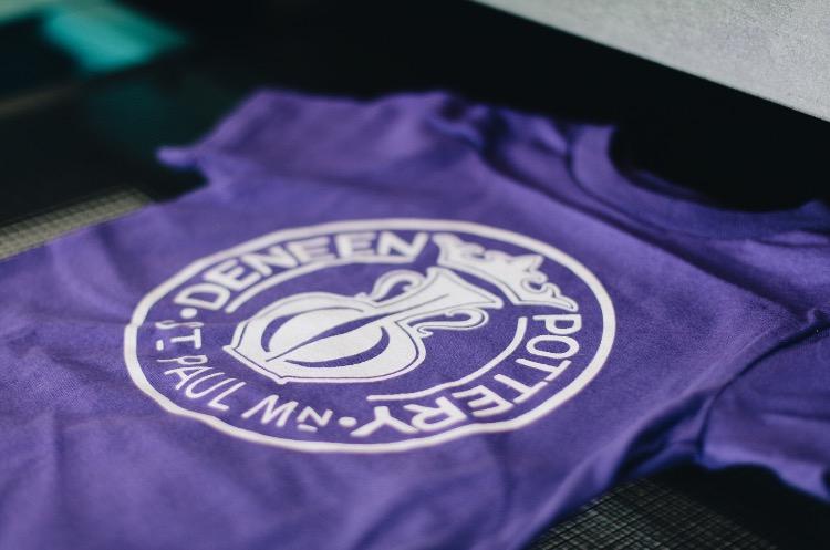 Deneen Pottery Purple t-shirt