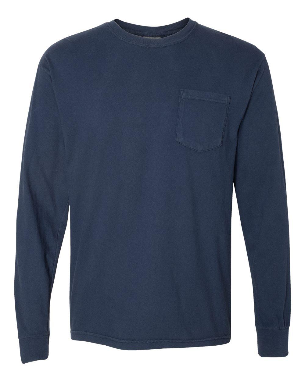 Comfort Colors Heavyweight LS Pocket Tee 4410