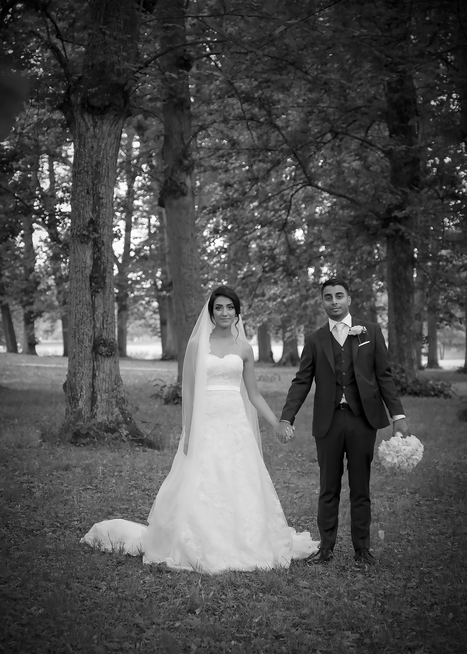 Sommarens sista bröllopsfotografering