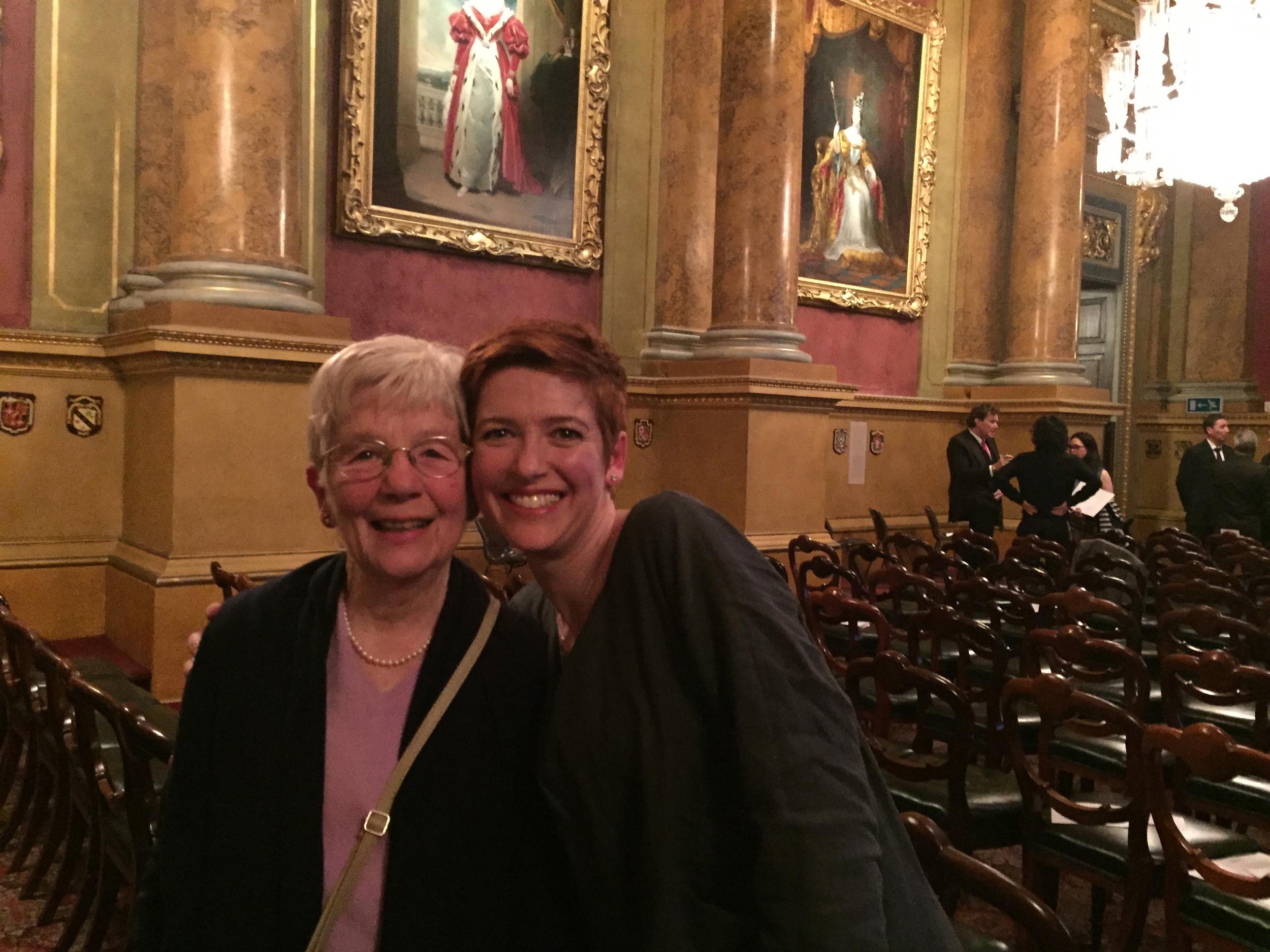 Me with my mum.