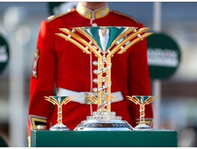 Been sent this awesome image courtesy of Aintree Racecourse and TheJockey Club. .... guarded throughout the festival by the Irish guards 😃 Huge Congratulations again to Tiger Rolland his team!! The big trophy goes to the owner of the horse and the three small replicas go to the jockey, the trainer and the groom. Thanks to the generosity of the sponsors Randox Health, they all get to keep them! More images to follow ......🏆 **********^******* It's been a huge team effort over the last few months to create the trophy that echoes antibodies, an alpha helix protein and biochips, which wrap around the base, to showcase Randox Health's innovative technology and advancements in diagnostic healthcare. ***************** #silver #silversmithing #handmade #madeinbritain #luxury #silverware #goldsmiths  #shannononeill #contemporysilver #bespokesilver #commission #rosatkinson #handcrafted  #artistsoninstagram #style #hersilverreflections #thejockeyclub #randoxhealth #randox #aintreeracecourse #randoxhealthgrandnational #goldsmithscompany #makinghistoryfun #silvertrophies #tigerroll