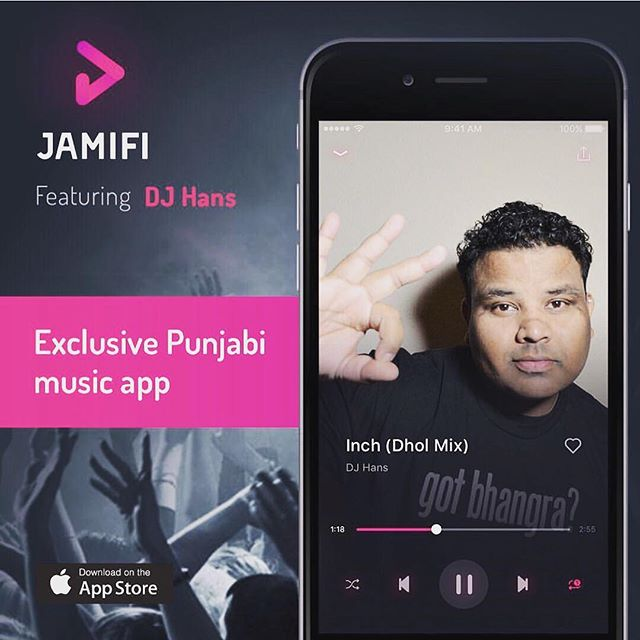 Download @jamifiapp for all your latest Punjabi music updates and listen to some of the greatest DJs in the mix! #gotbhangra
