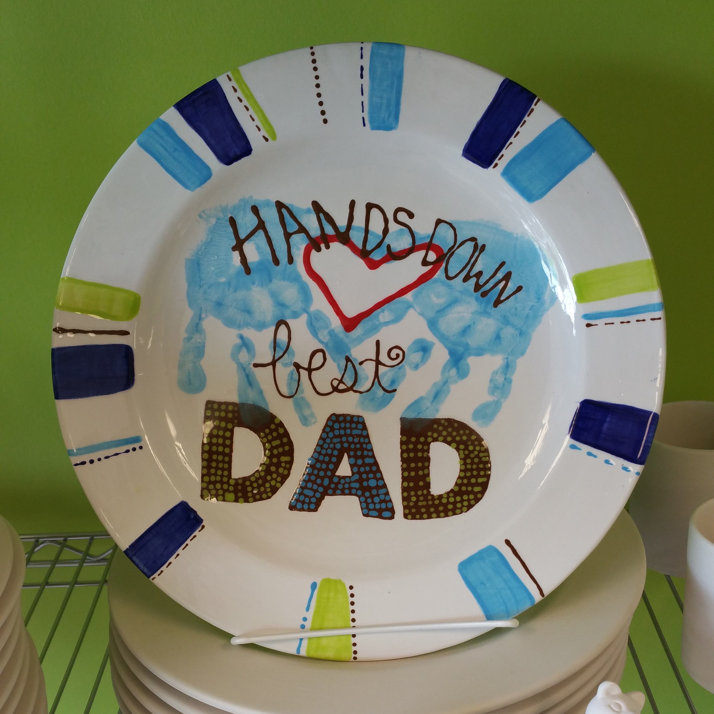 Dad Plate
