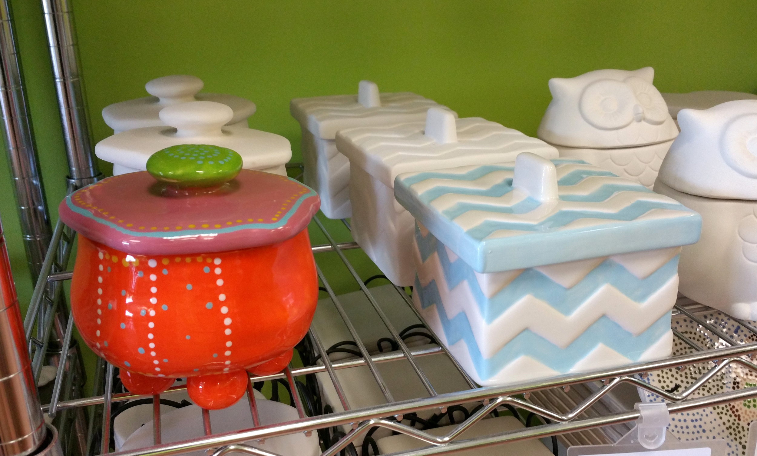 Funky and Chevron Boxes
