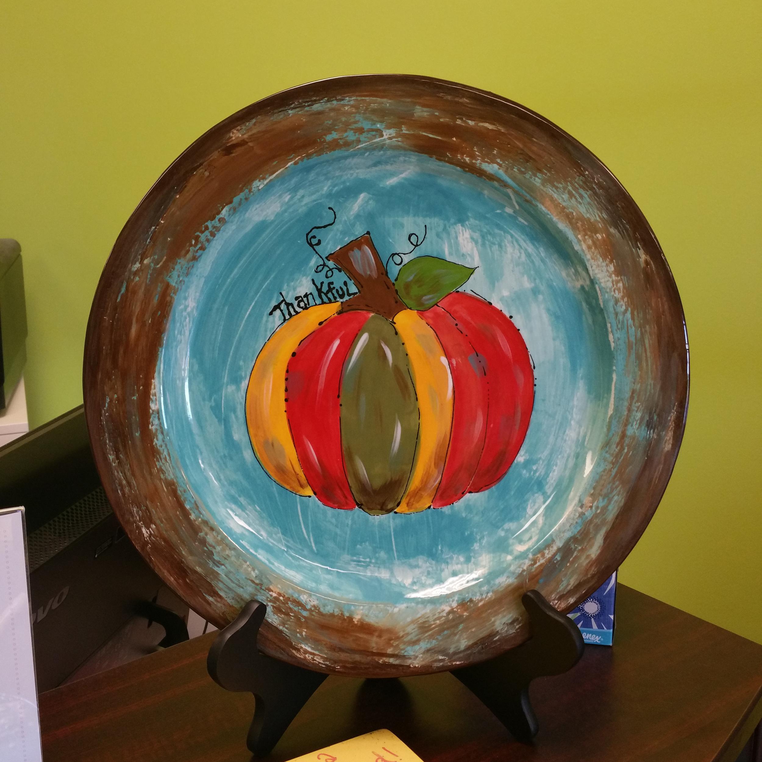 Harvest Plate