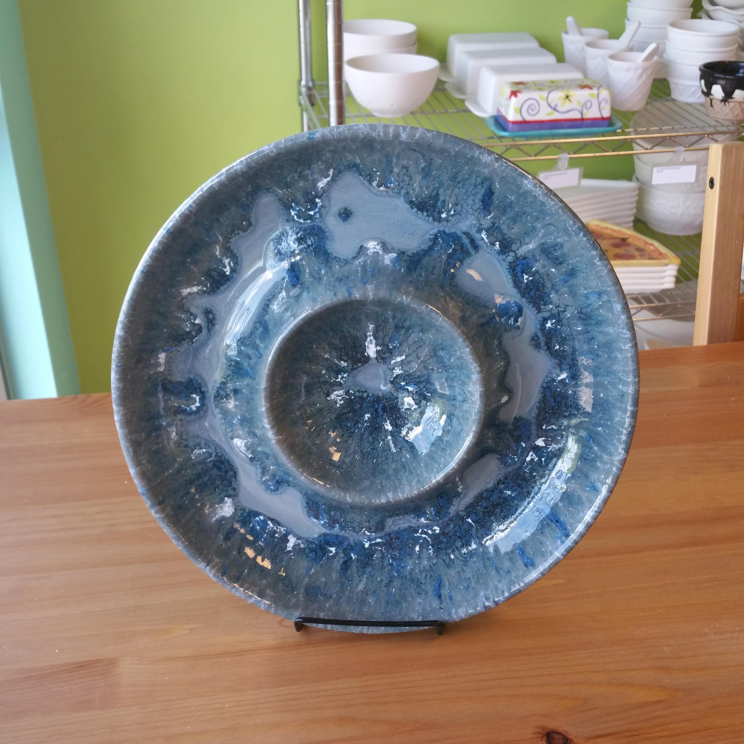 Pottery Glaze Serving Platter