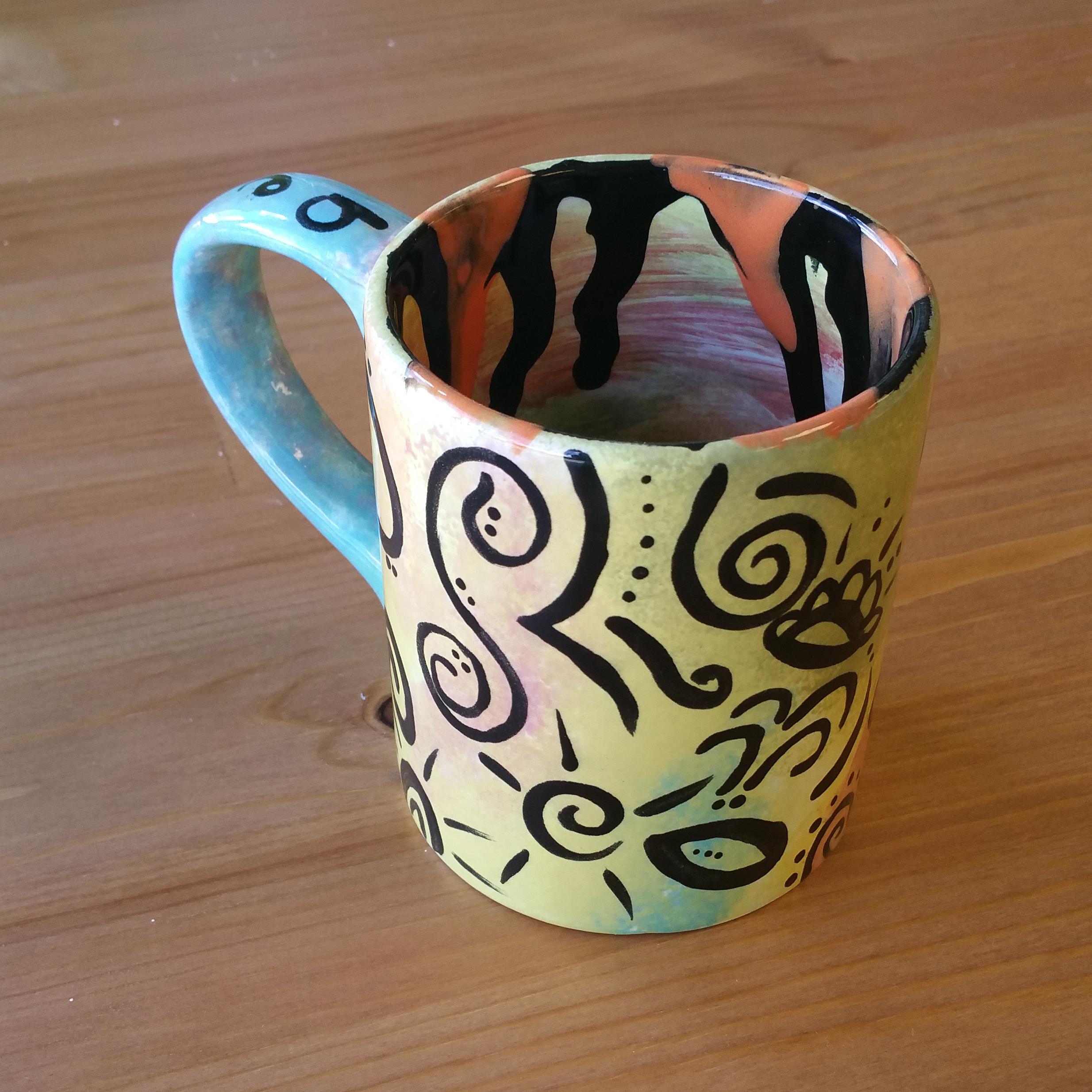 Marbled Swirl Mug