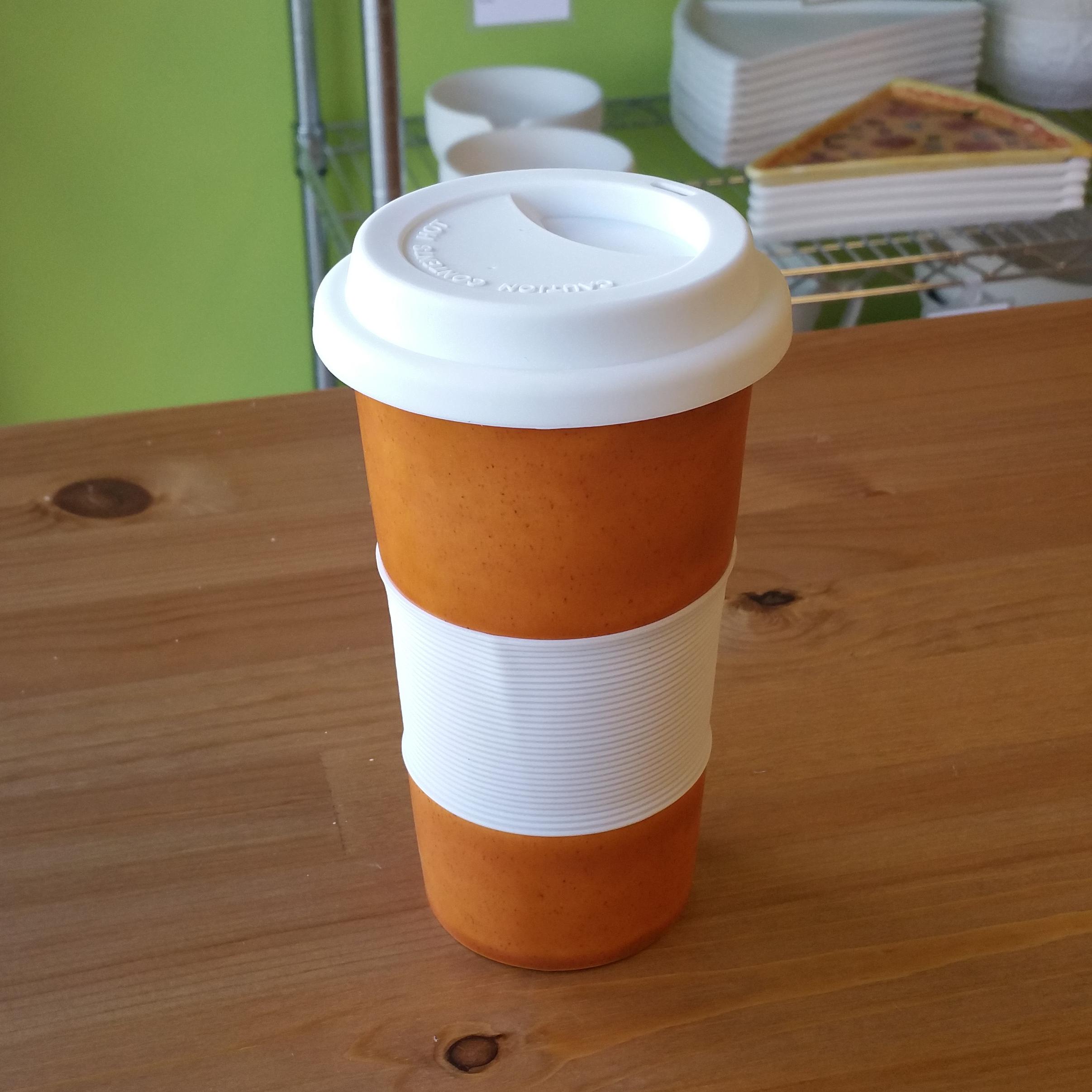 Pottery Glaze Travel Mug