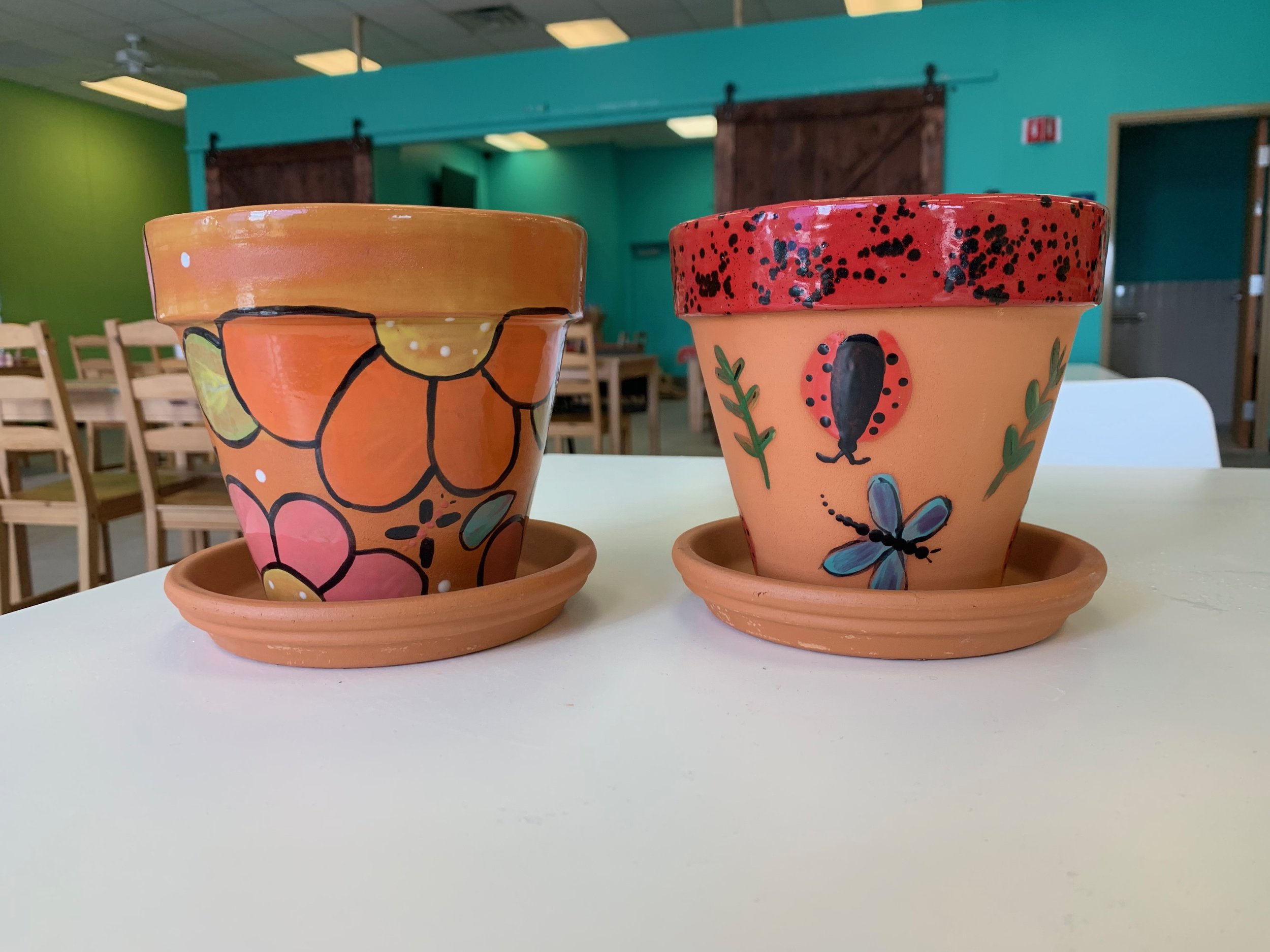terracotta flower pots 2019.JPG