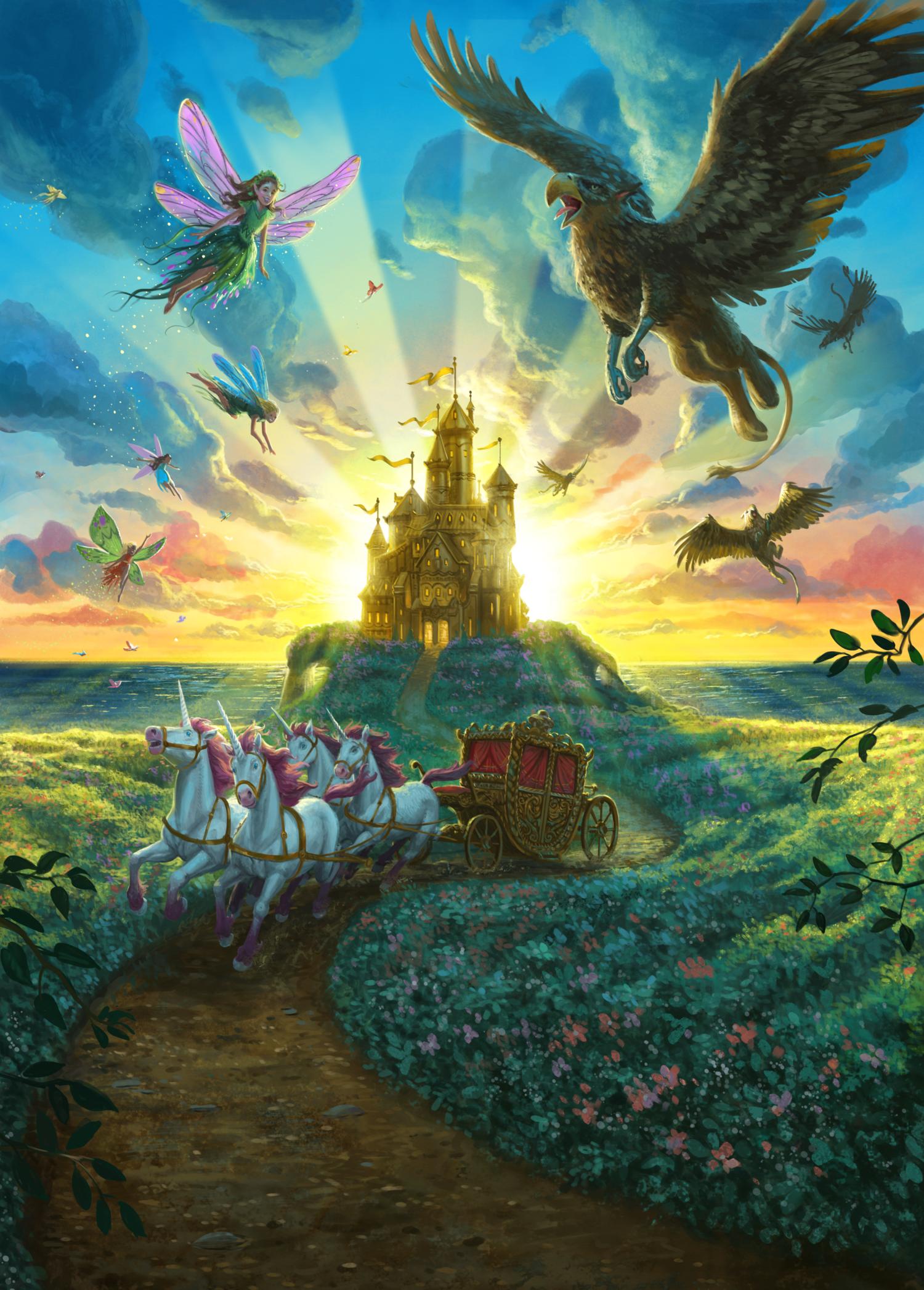 Una storia di Magia - Illustrazione