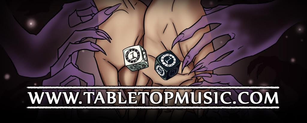 Otherworlds proudly uses TABLETOPMUSIC.COM to immerse its players in fantasy and wonder.