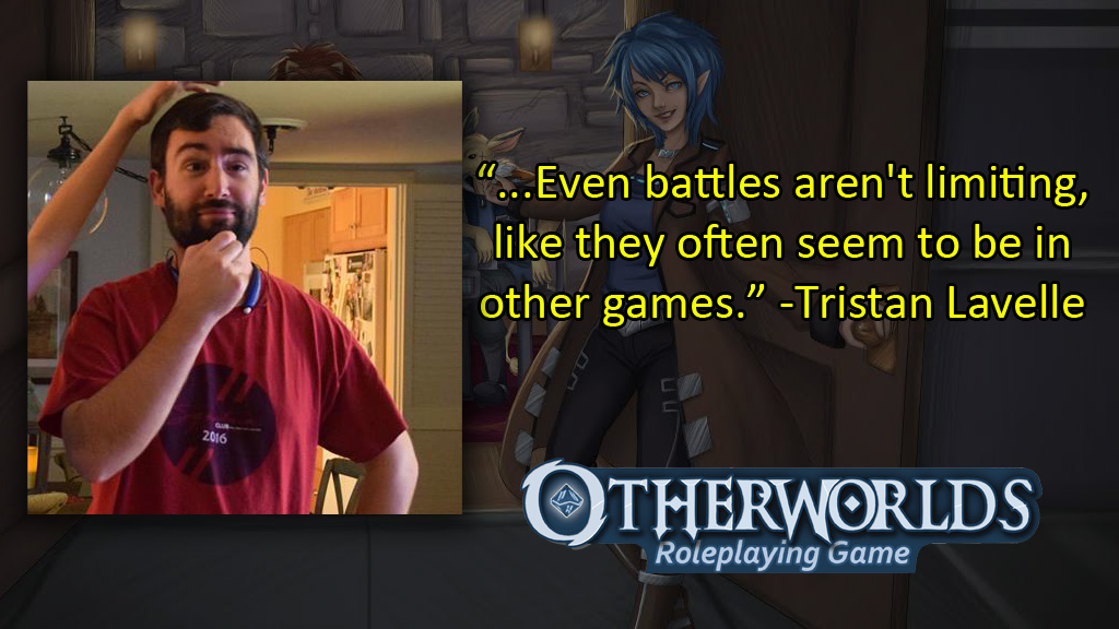Tristan Lavelle - Otherworlds Tabletop RPG