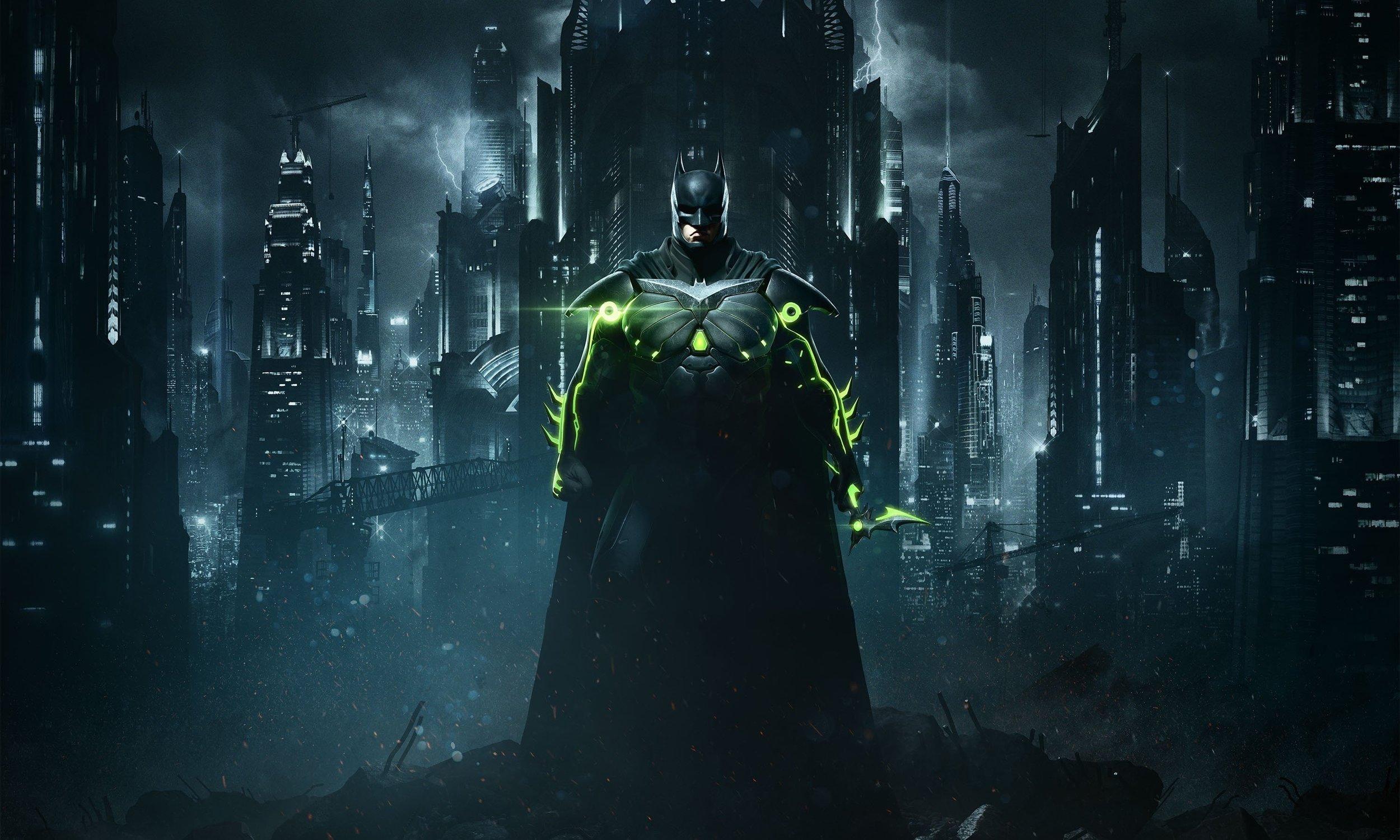 Otherworlds Tabletop RPG - Batman Injustice 2