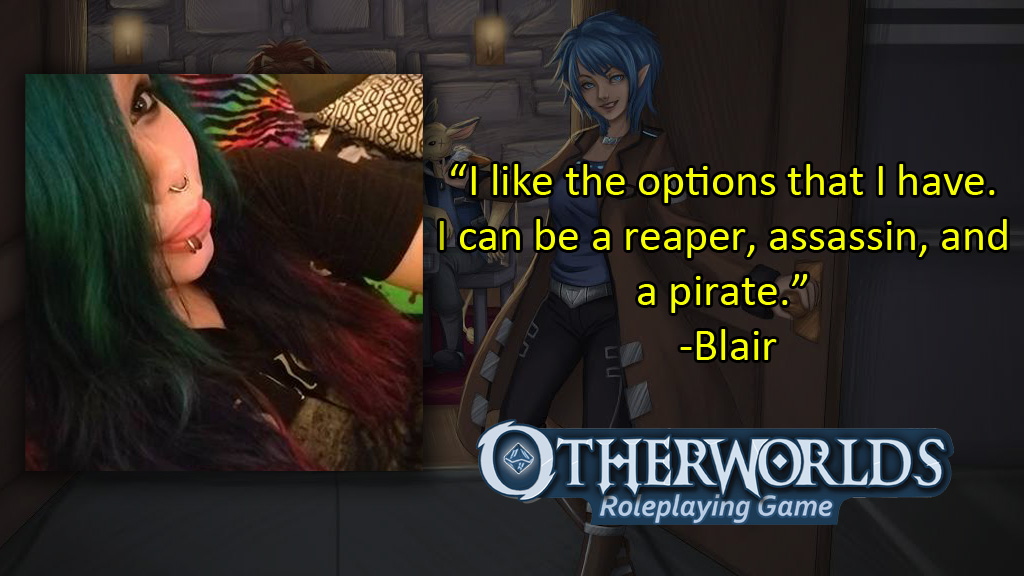 Otherworlds Tabletop Roleplaying Game - Blair