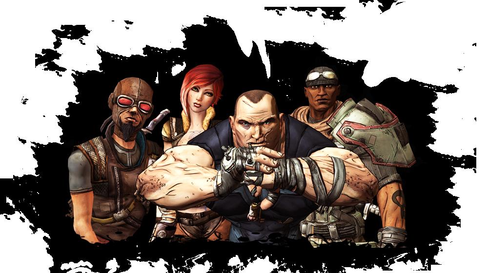 Bunkers and Badasses Borderlands Otherworlds Tabletop RPG
