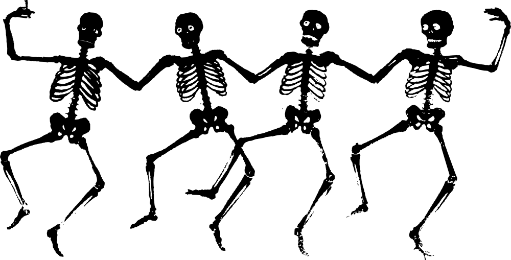Halloween - Otherworlds Into The Black Tides Skeletons