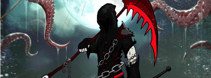 Otherworlds Tabletop RPG Avryn Reaper - Soul Eater