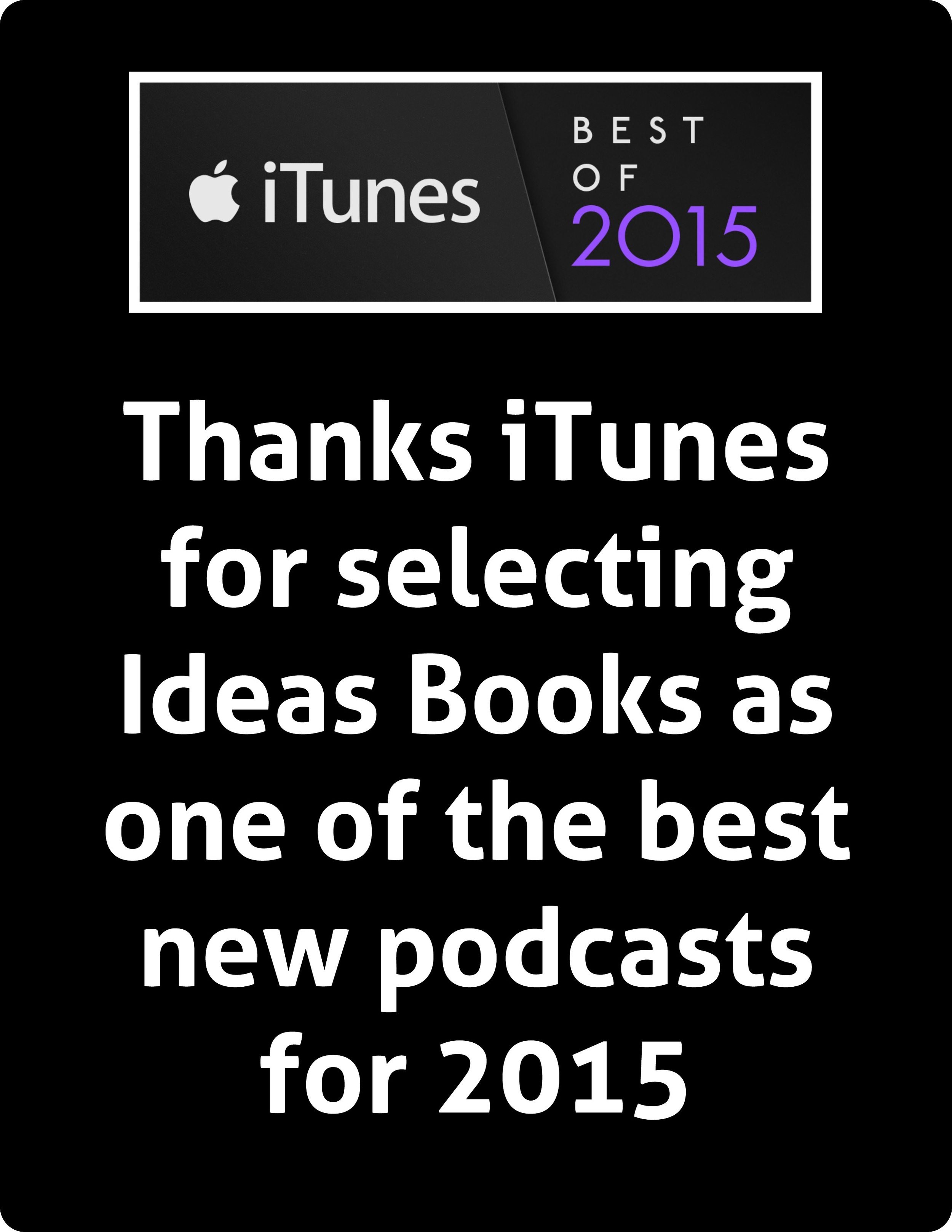 Best of iTunes Ideas Books