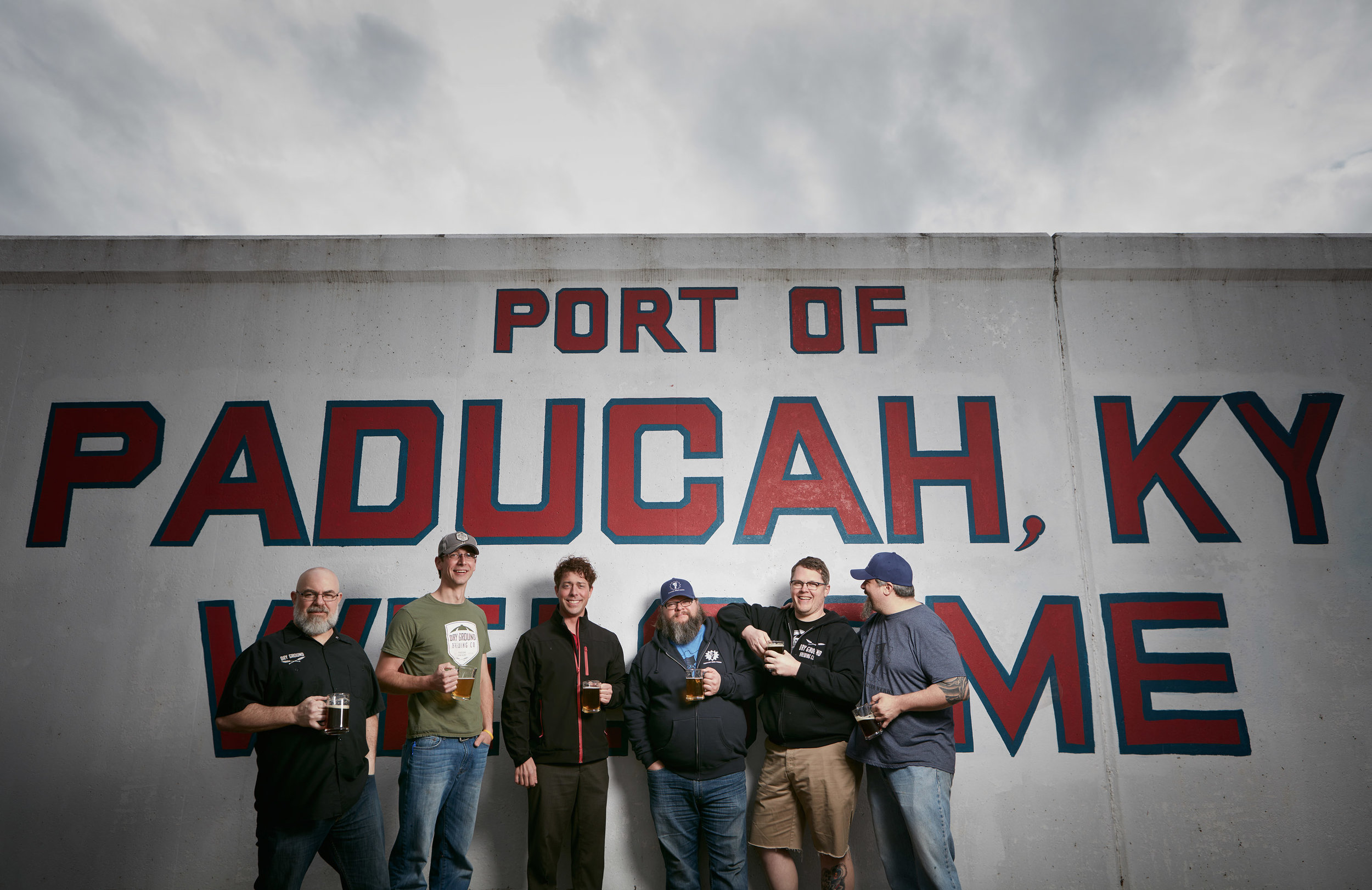 Photo 3: Portrait of local breweries and staff in Paducah, Ky.