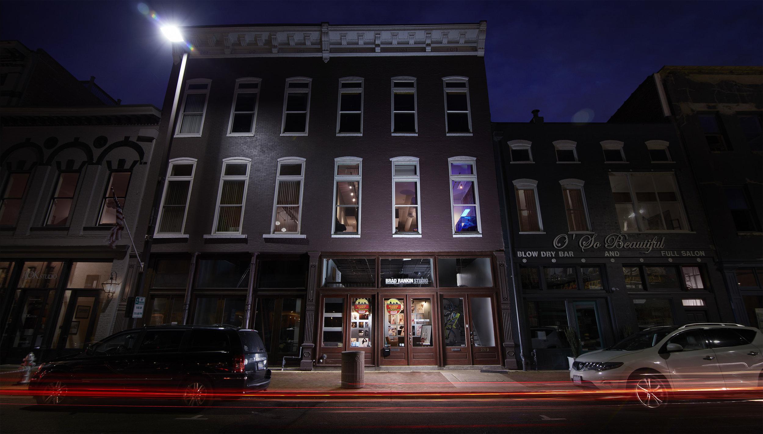 Brad Rankin Studio  - 218 Broadway Street - Paducah, Kentucky 42001 - Storefront.jpg