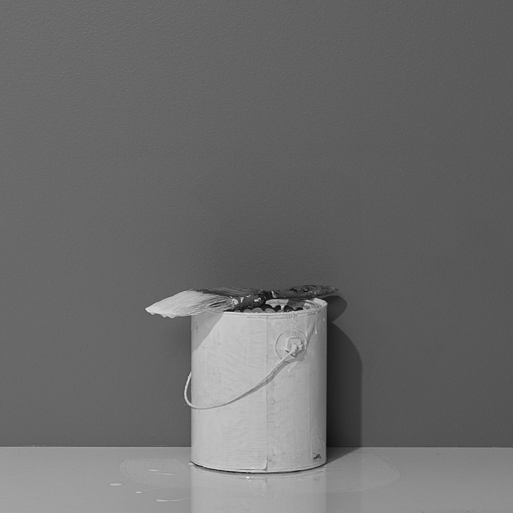 Photo 2  / Photograph of paint bucket used for the final advertisement shot after the fact in our studio.