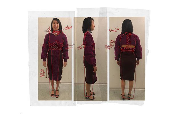 Look 4 muslin fitting