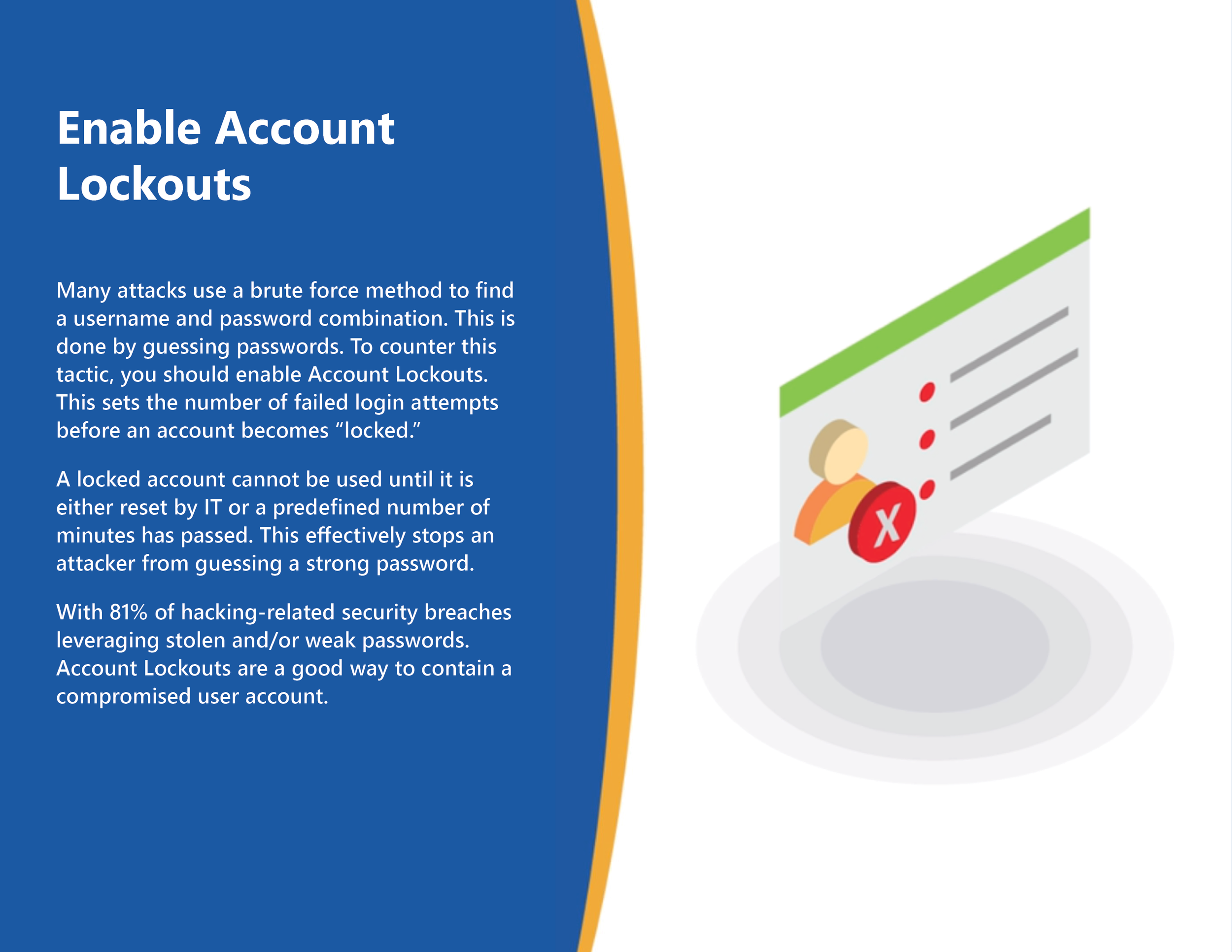 Enable Account Lockouts