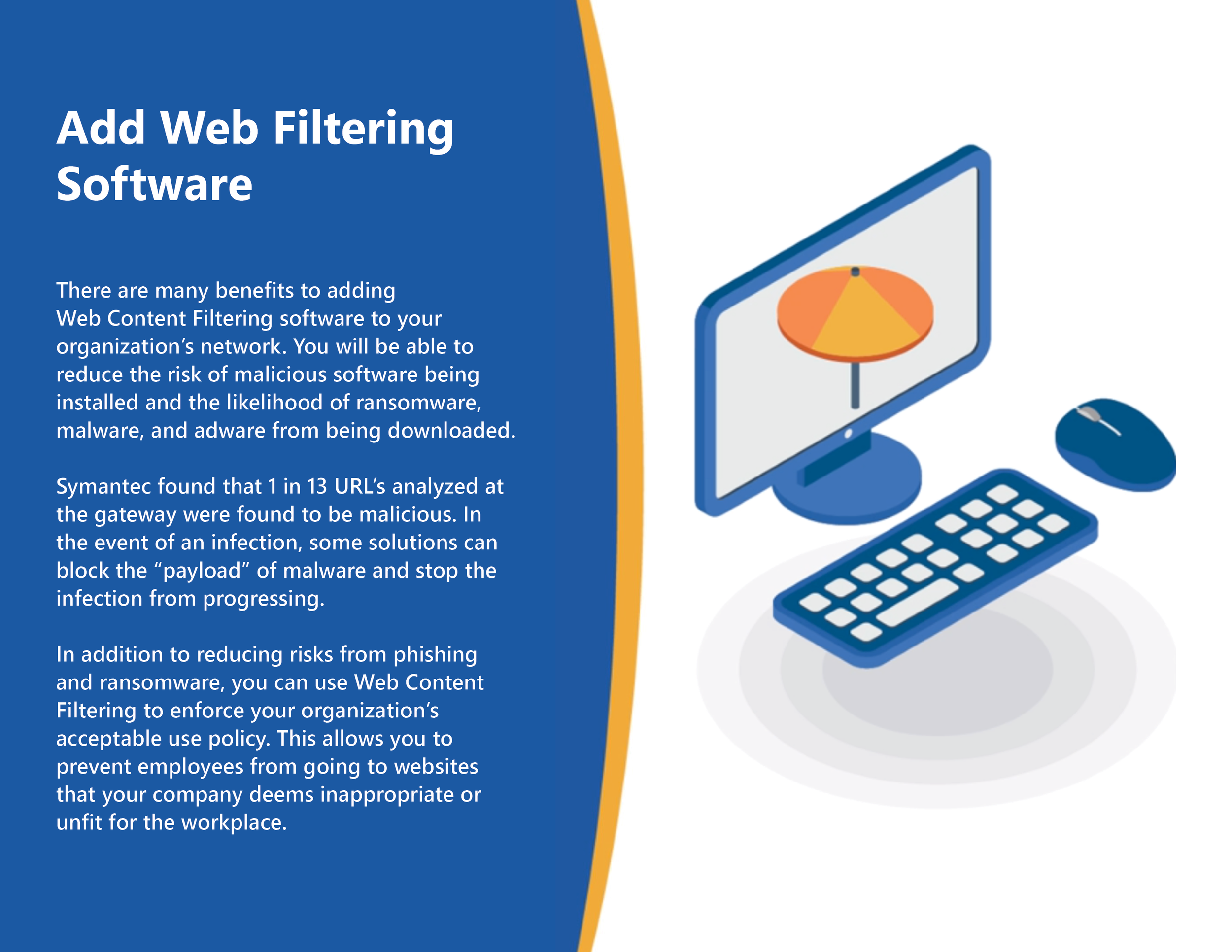 Add Web Filtering Software