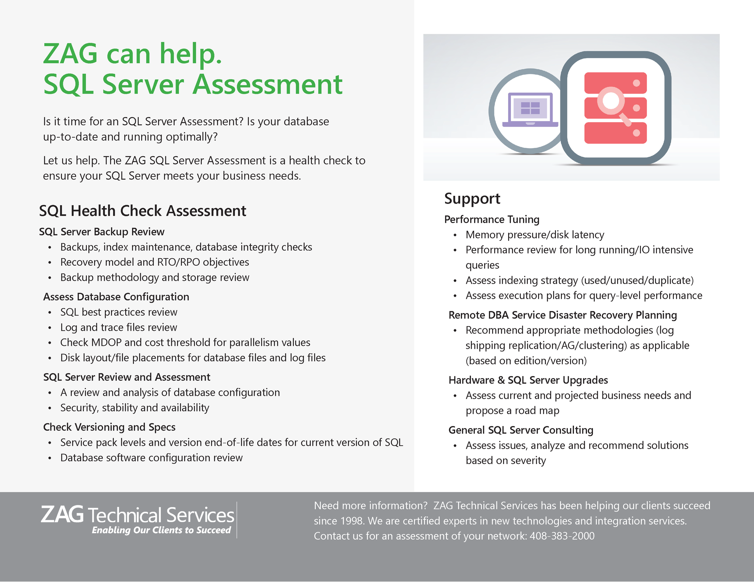 Is your database up-to-date and secure?