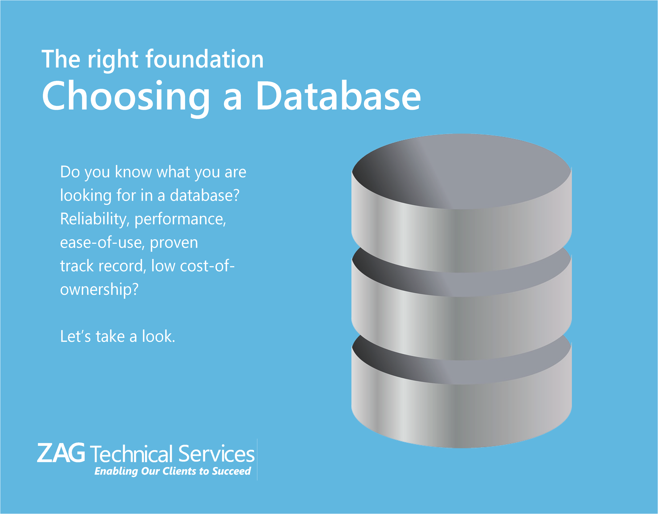 What is the best database?