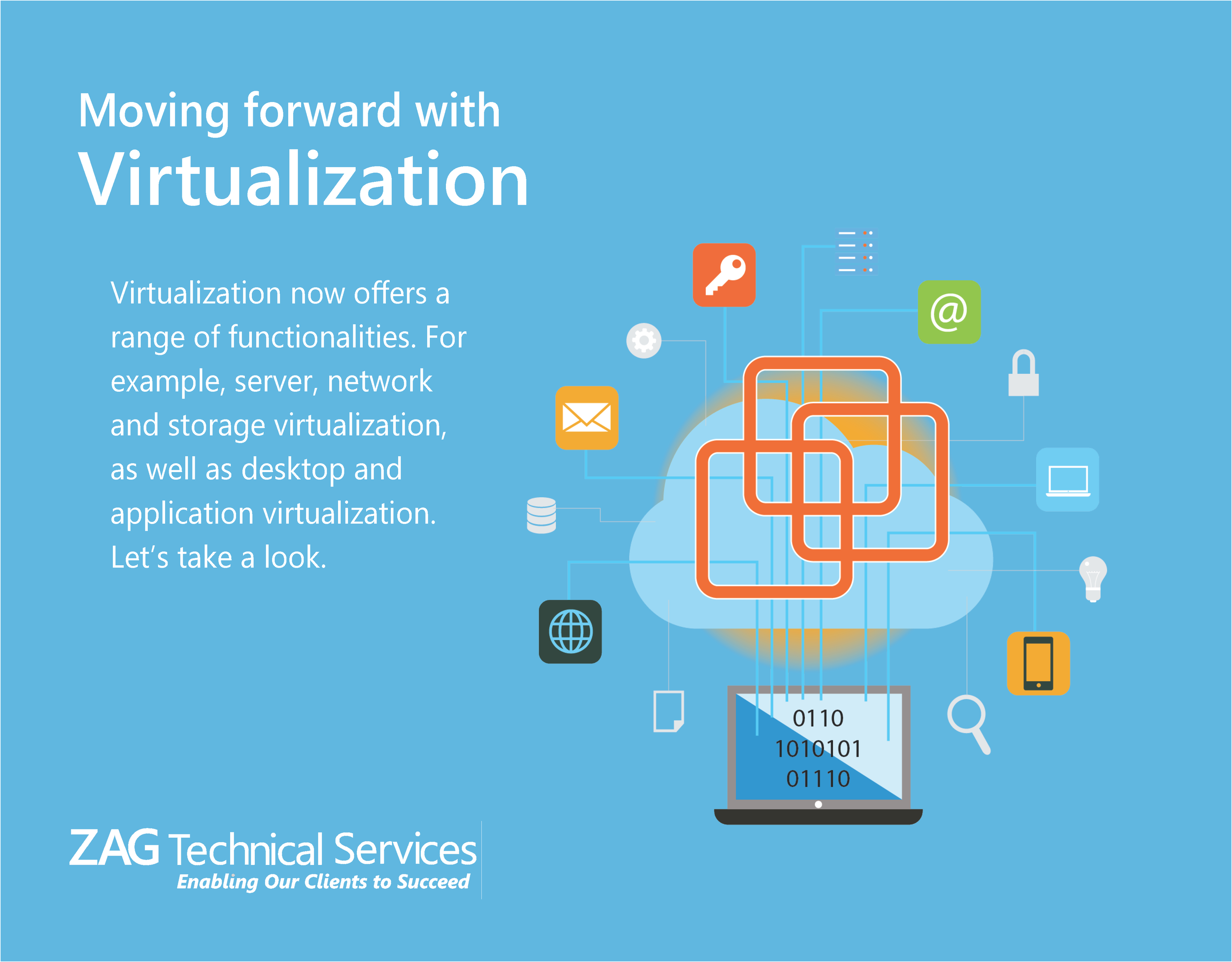 Virtualization offers a range of functionalities