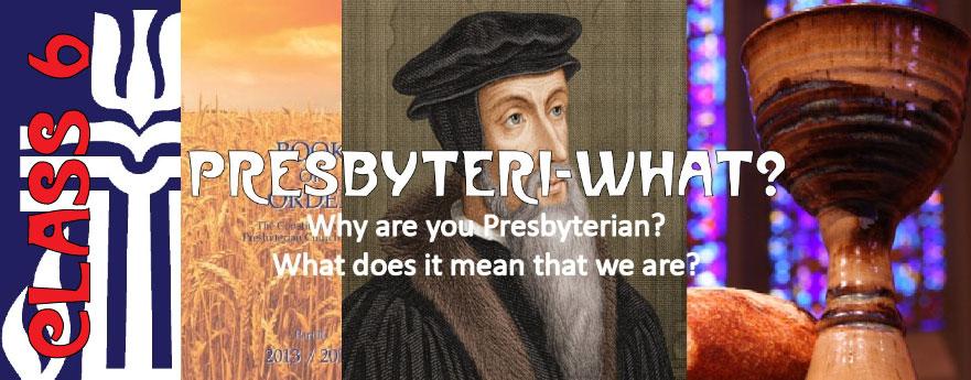 Presbyteri-What? Class 6 logo