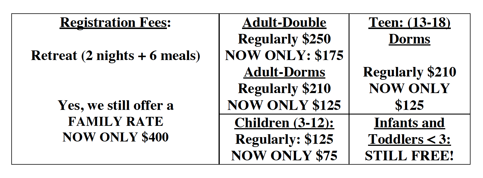 2019 Retreat Prices.png