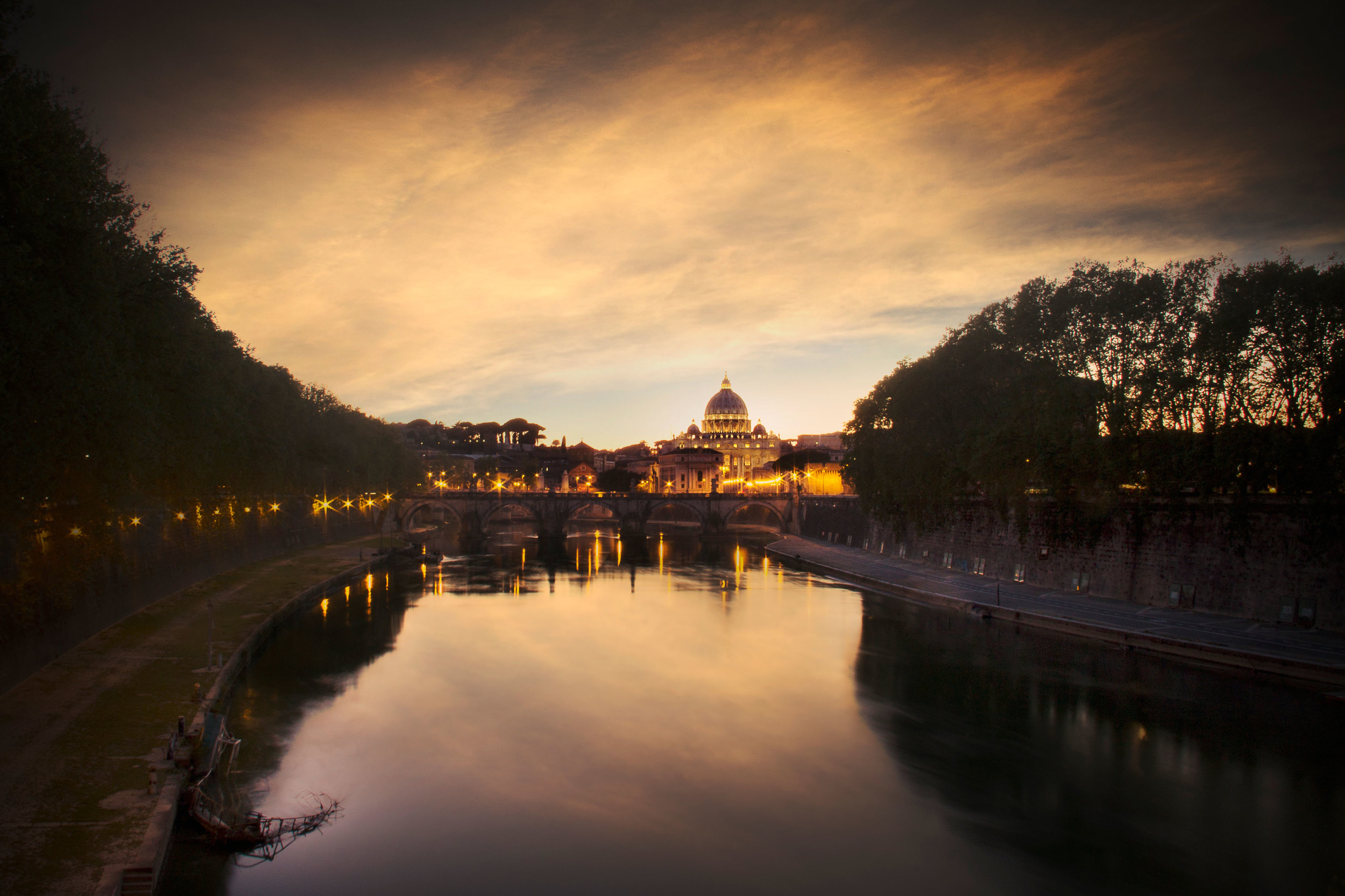 Tiber River - Long Exposure