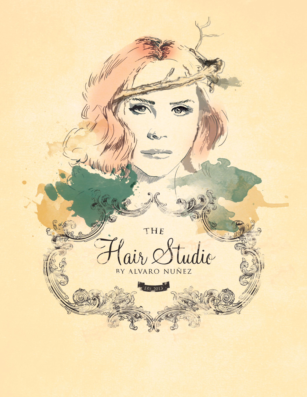 The Hair Studio - Digital Illustration