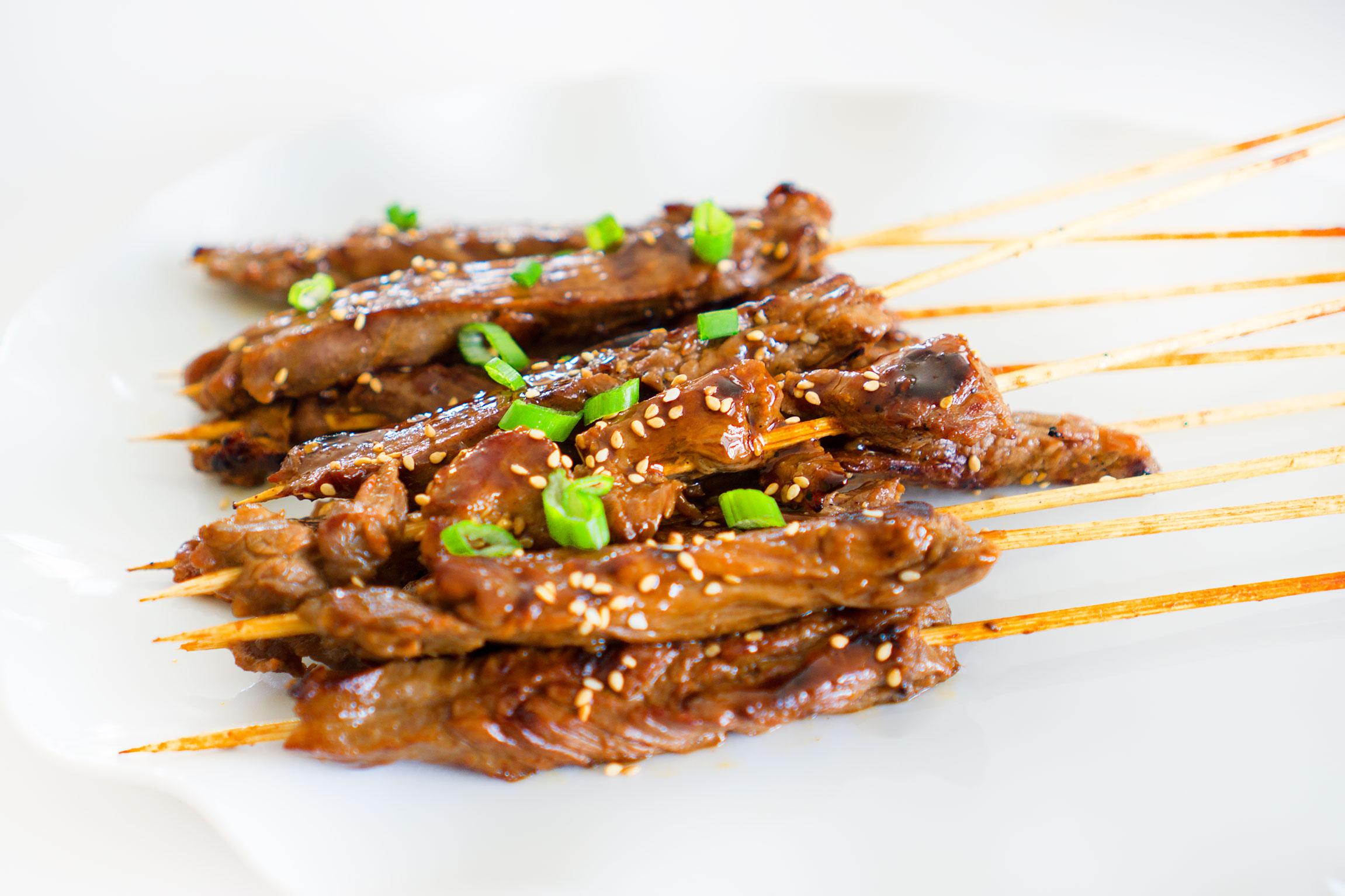 Low Carb Keto Korean BBQ Skewers