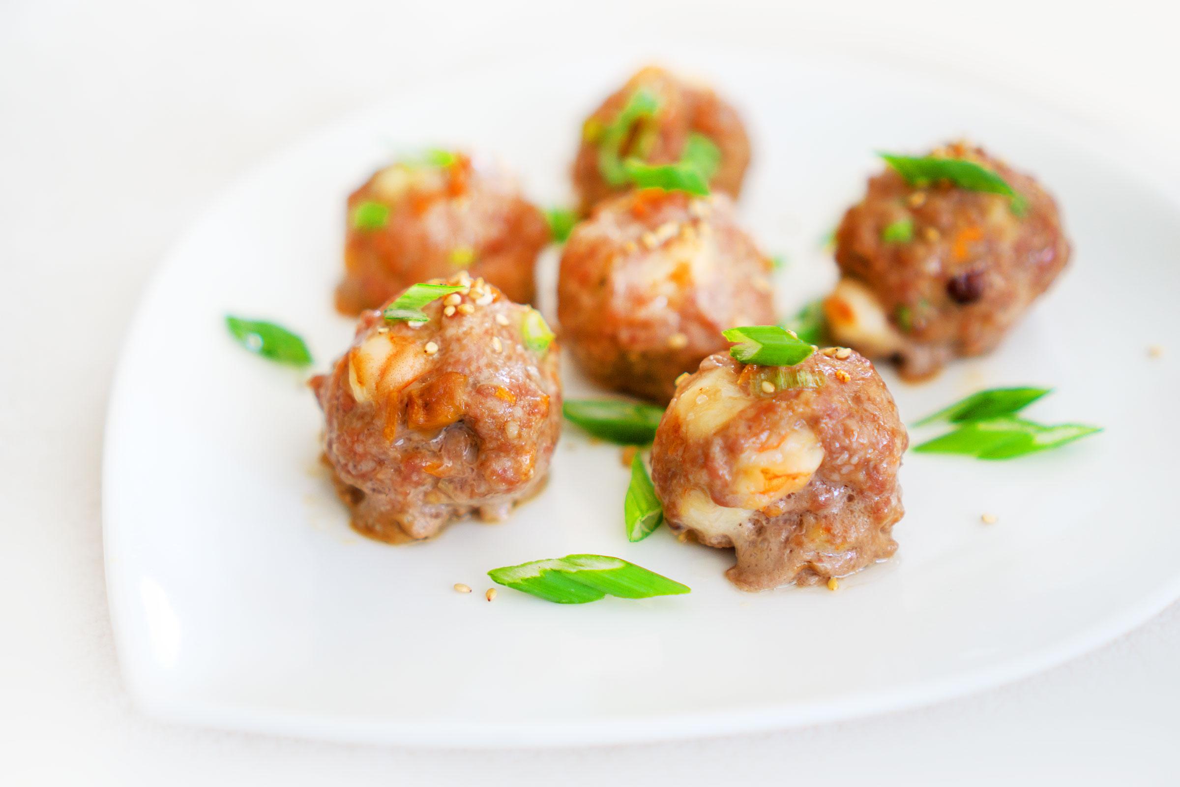Keto Low Carb Wonton Meatballs