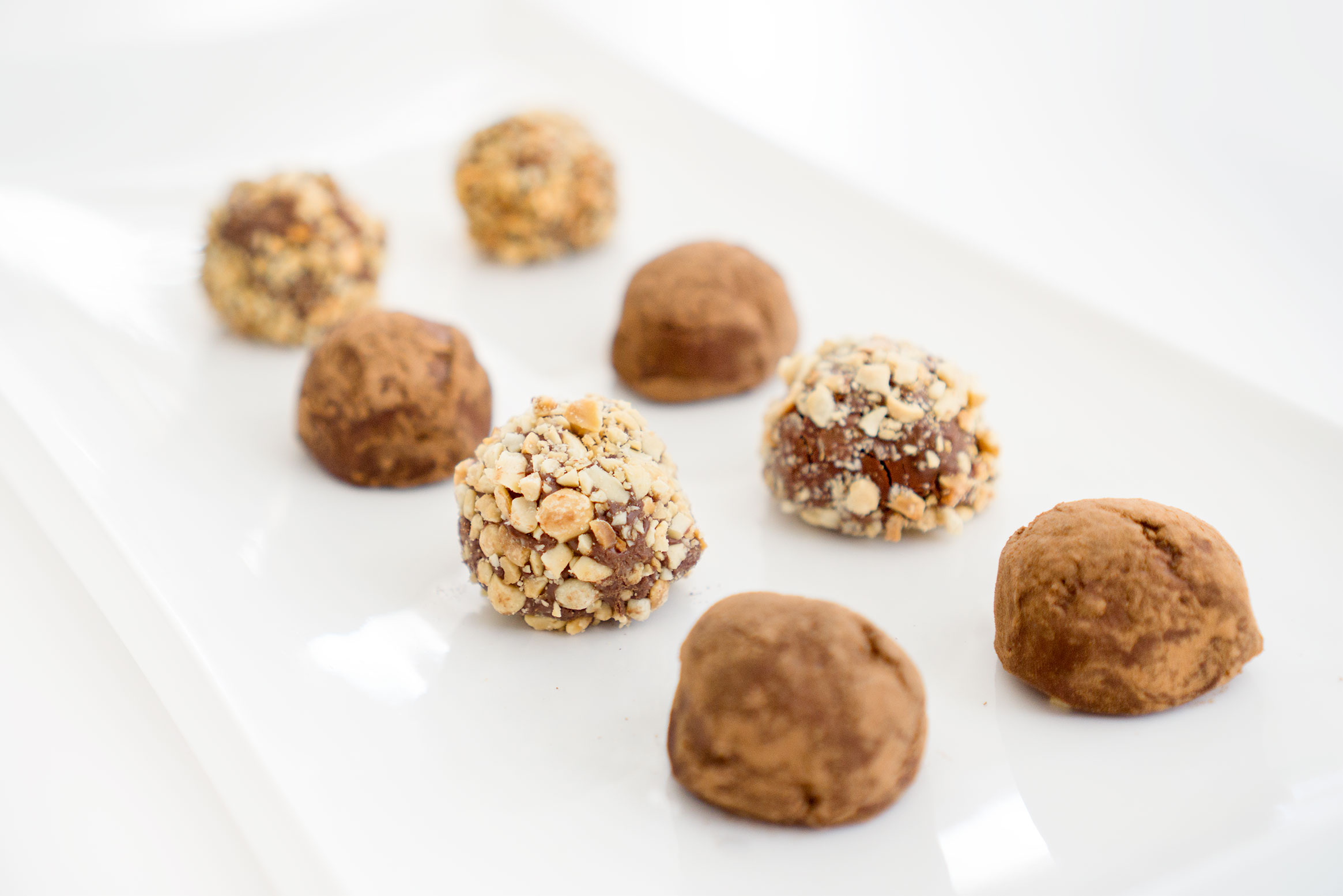 Keto Low Carb Chocolate Truffles