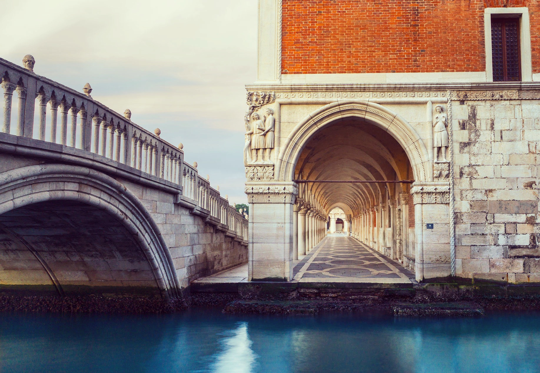 Arch at the Doge's Palace